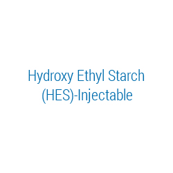 Hydroxy Ethyl Starch (HES)-Injectable